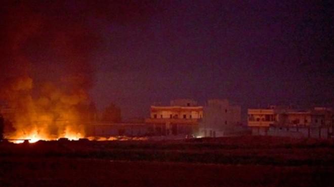 Barış Pınarı harekatı başladı: Terör hedefleri ateş altında!