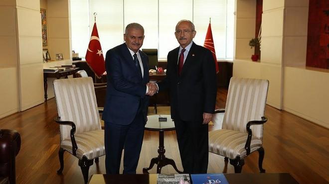 Başbakan Yıldırım, Kılıçdaroğlu ile görüşecek