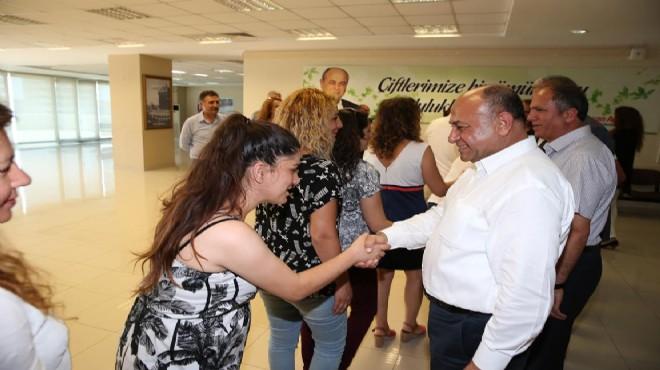 Başkan Arslan: Huzurlu, mutlu ve sağlıklı bir bayram diliyorum