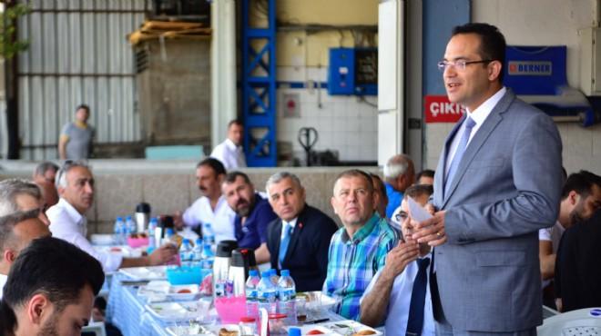 Başkan Atila esnafın yanında