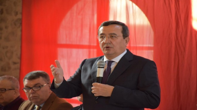 Başkan Batur örgüte mesaj verdi, hedefi koydu: Yüzde 60'ı geçeriz!