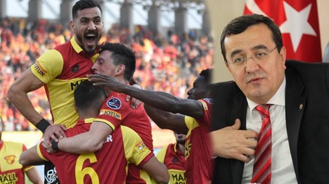 Başkan Batur'dan Göz-Göz'e destek: Her maça 100 çocuk, stat yoluna büst