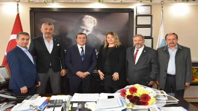 Başkan Batur Konyalıları ağırladı