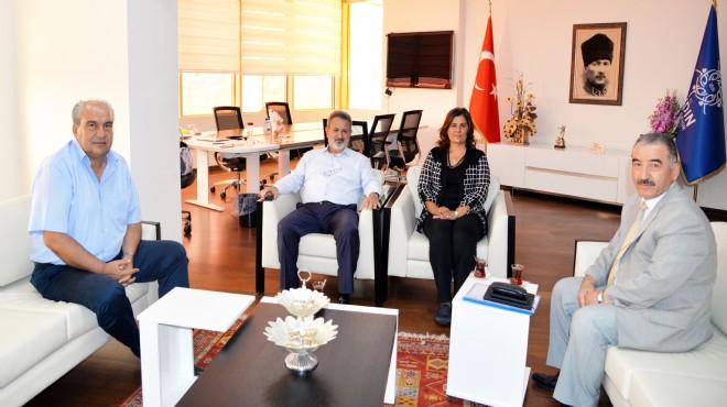 Başkan Çerçioğlu'na 'Ahilik' ziyareti