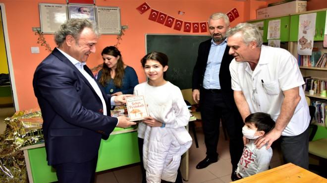 Başkan İduğ'dan 200 hasta çocuğa karne hediyesi