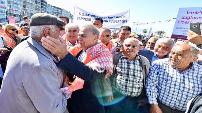 Başkan Kocaoğlu'ndan kırsal kalkınma mesajı: İzmir'de köylü milletin efendisi!