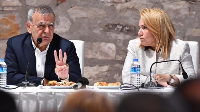 Başkan Kocaoğlu'ndan Yarımada mesaisi: Erken seçim mesajları!