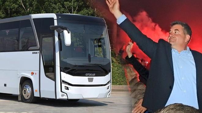 Başkan Oran'dan Göztepelilere otobüs müjdesi