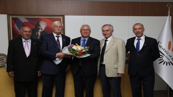 Başkan Selvitopu muhtarları makamında kabul etti