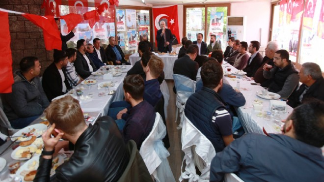 Başkan Selvitopu'ndan genç buluşma