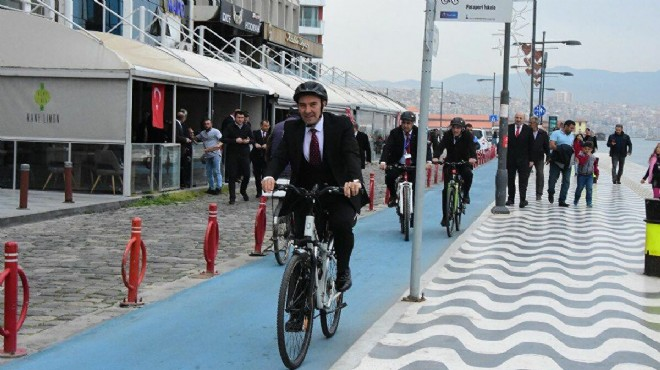 Başkan Soyer açıkladı: Bisiklet yolları kesintisiz birbirine bağlanacak