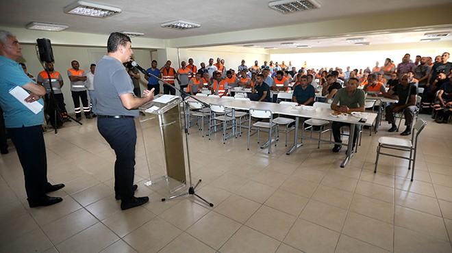 Başkan Tugay: KHK'lı personele zam yapmaya hazırım