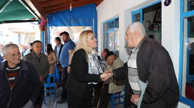 Başkan Uyar referandum için sahada