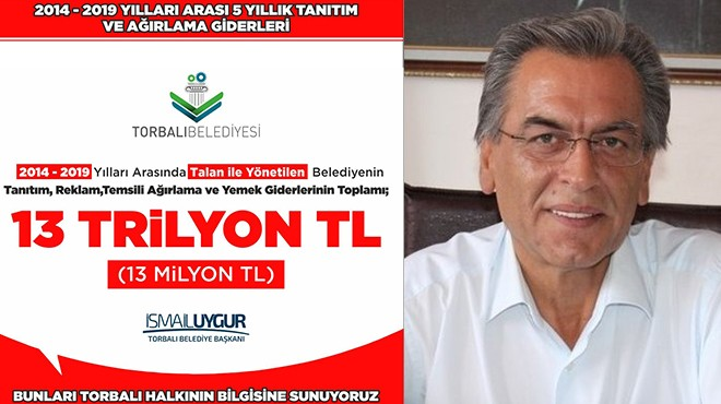 Başkan Uygur borcu ifşa etti: Reklam ve ağırlamaya 13 milyon!