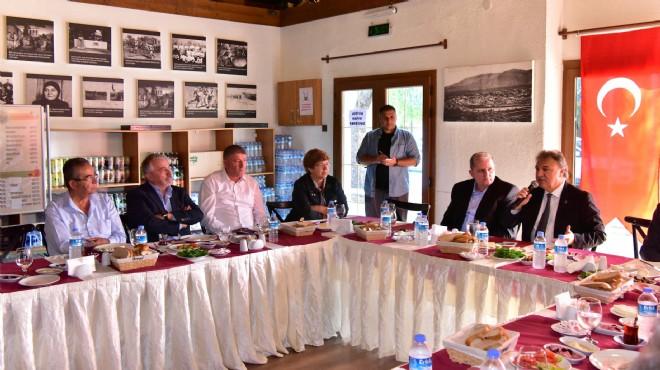 Başkanlardan Bornova'da zirve