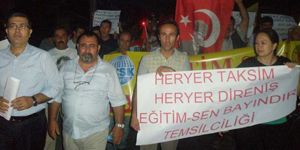Bayındır da Gezi eylemine katılanlara soruşturma!