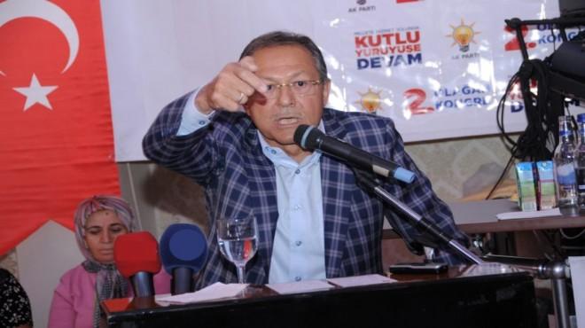 Belediye Başkanı Uğur'dan sert çıkışı: Kendi kalemize gol atmayalım!