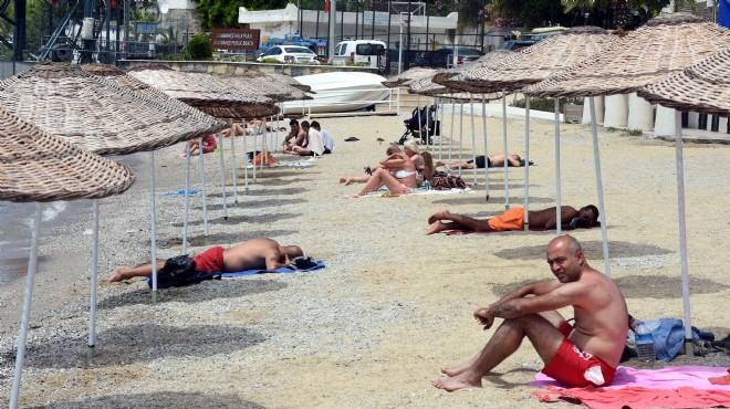 Belediye harekete geçti: Bodrum'da şezlongsuz yaz!