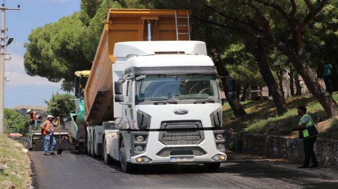 Bergama'da yollar yenileniyor