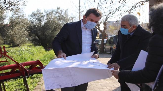 Bergama'da Zeytin Park için düğmeye basıldı