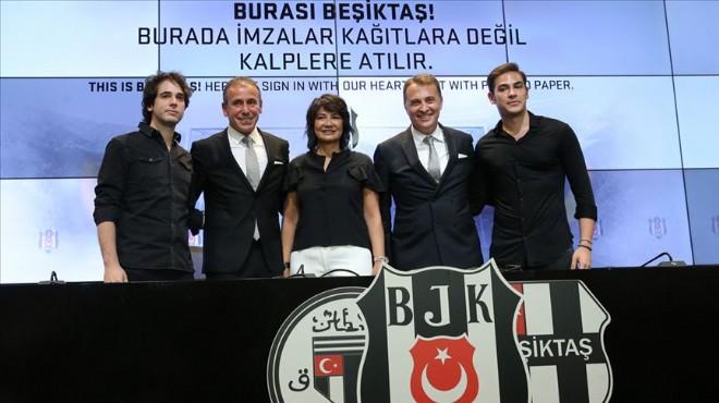 Beşiktaş Avcı ile sözleşmeyi imzaladı