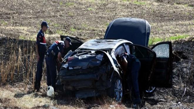Beştepe'ye giden belediye başkanının konvoyunda kaza