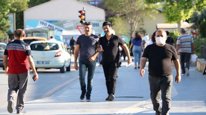 Bir kentte daha maske takma zorunlu hale geldi
