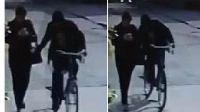 Bisikletle tacizde yeni gelişme: Eşi yakalattı!