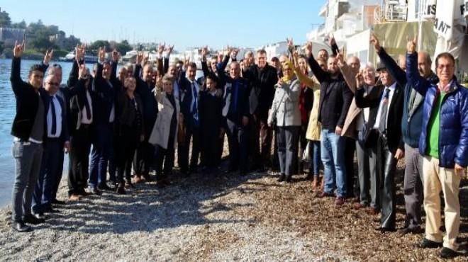 Bodrum'da 150 kişi MHP'li oldu!