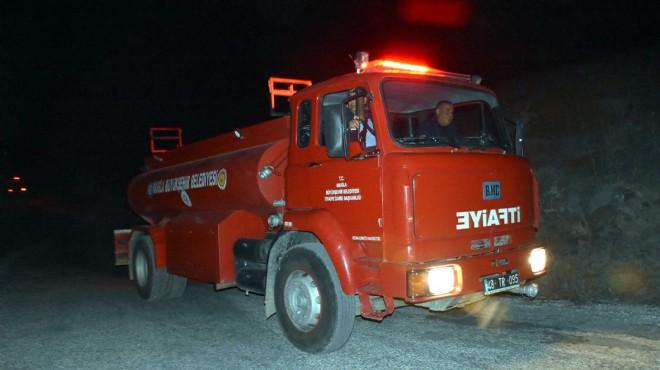 Bodrum'da yine yangın! Sabotaj mı?
