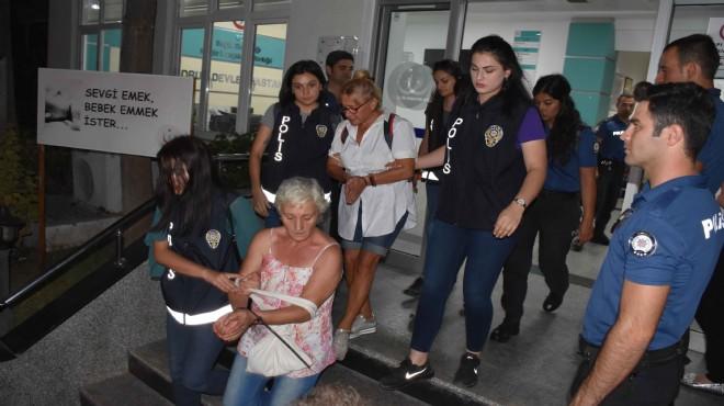 Bodrum'daki izinsiz gösteriye 15 gözaltı!