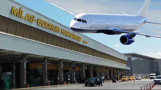 Bodrum Havalimanı'nda panik: Uçaklar İzmir'e yönlendiriliyor!