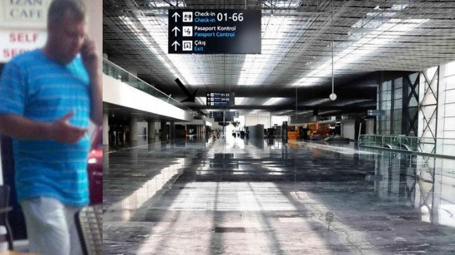 Bodrum'daki havalimanında korkunç olay