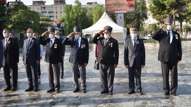 Bornova'da gaziler unutulmadı