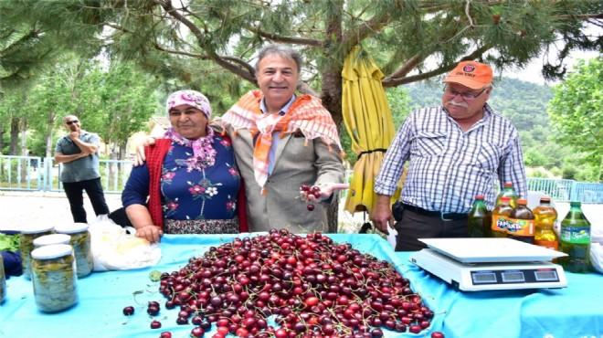 Bornova'da Kiraz Festivali coşkusu