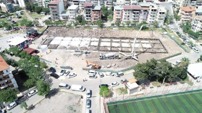 Bornova'da pazaryerleri inşaatları tamamlanıyor