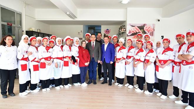 Bornova'nın mutfak atölyesinde yeni dönem