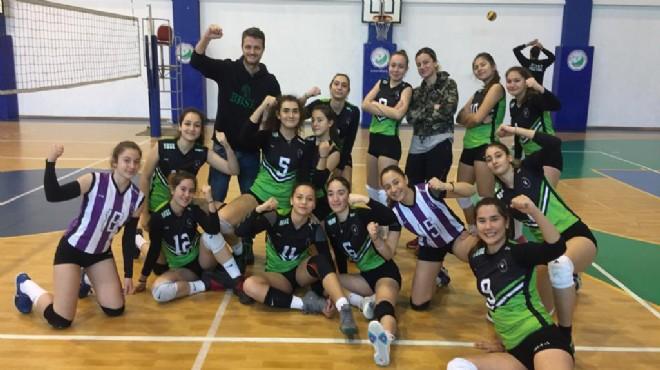 Bornova'nın Sultanları turnuva şampiyonu