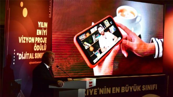Bornova'nın vizyon projesi 'dijital sınıf' yola çıktı