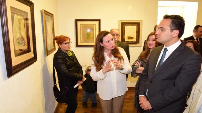 Bornova 'Tezhip ve Minyatür ' sergisine kapılarını açtı