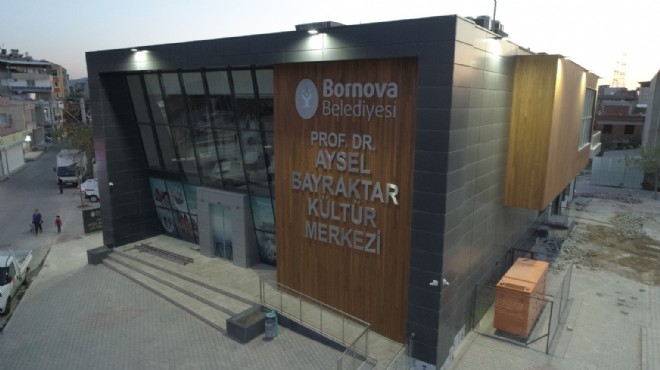 Bornova'ya 3 yılda 3 kültür merkezi
