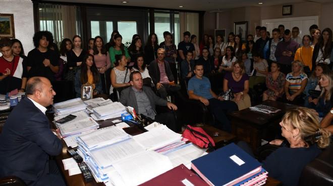 Bosna-Hersek'ten Çiğli'ye kardeş okul ziyareti