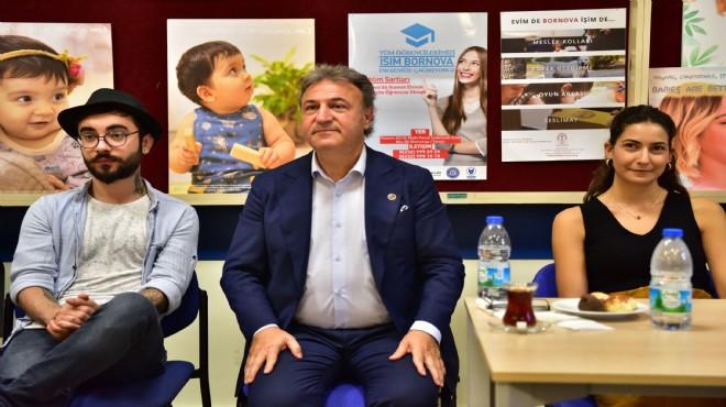 """Bu projeler """"Genç Bornova' için"""