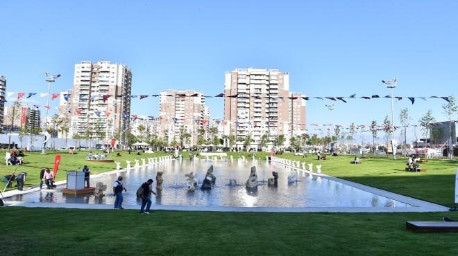 Büyükşehir'den yeni cennet: İzmir büyük ustayı unutmadı