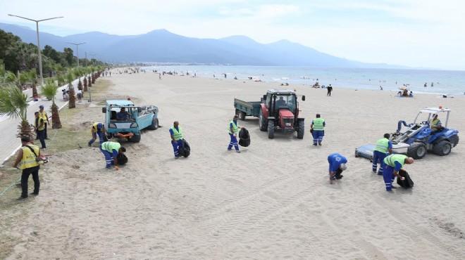 Büyükşehir ada sahillerini Bayrama hazırlıyor