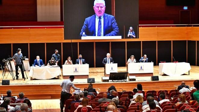 Büyükşehir de tartışmalı meclis... AK Parti ve CHP arasında  video  düellosu