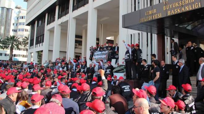 Büyükşehir'de toplu sözleşme masası: İşçiler kazanımla çıktı