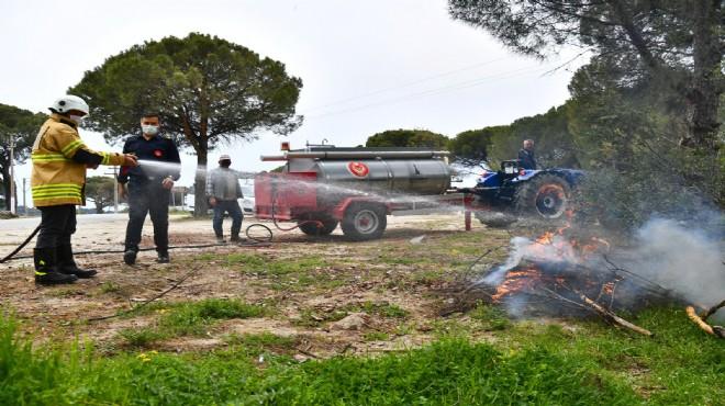 Kırsal mahallelere dağıtıldı... Büyükşehir'den yaz öncesi yangın önlemi