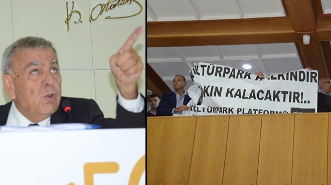 Başkan Kocaoğlu'ndan sert çıkış: Kültürpark Platformu'nu tanımıyorum!