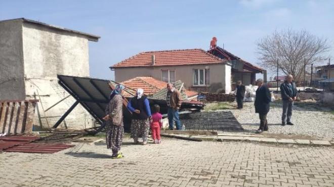 Çatıda montaj sırasında çökme: 2 işçi yaralı